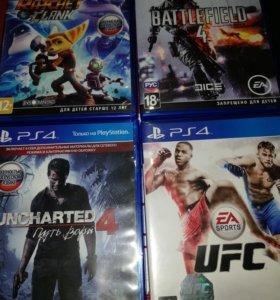 PS 4 игры