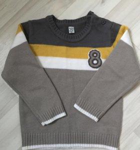 Детский свитер, р-р 18-24 мес