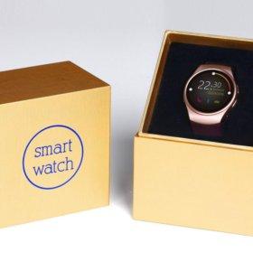 Качественные, стильные умные часы KW18