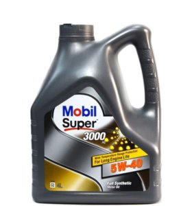 Моторное масло Mobil Super 3000 5w-40 4 литра