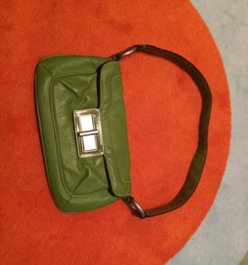 Кожаная сумка Benetton