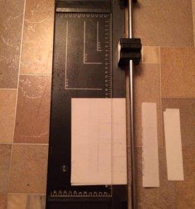 Резак для бумаги роликовый