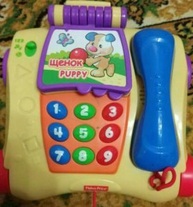 ☎️Обучающий телефон fisher price смейся и учись