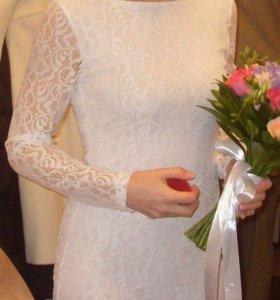 Платье свадебное/коктейльное