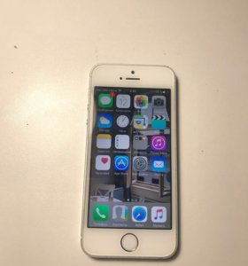 iPhone 5s silver 16