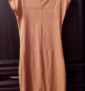 Платье искусственный замша
