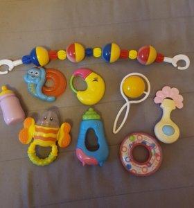 Погремушки игрушки