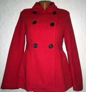 Красное пальто, полупальто на весну/осень/лето