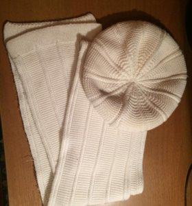 Продам шарф и беретку