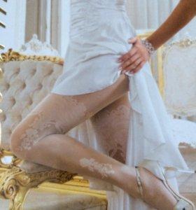Колготки свадебные Charmante