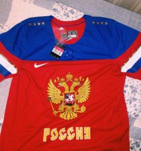 Хоккейная майка NIKE IIHS FAN JERSEY 1.3 RUSSIA