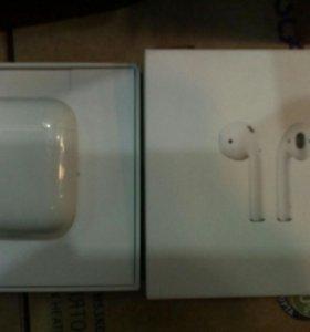 Наушники Apple AirPods беспроводные