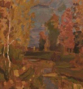«Осень» Левитан