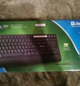 Клавиатура офисная с тётечкой