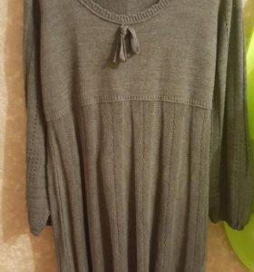 теплое платье bonprix 52 54