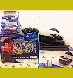 Игровая приставка Sony PlayStation 4 & VR очки!