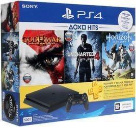 Игровая приставка Sony PlayStation slim 500 gb + г