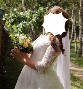 "Свадебное платье ""Либерти"" от тм ""Gabbiano"""