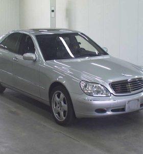 Mercedes Benz w 220 в разбор