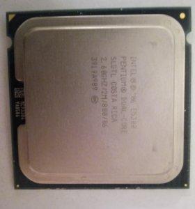 Процессор intel dual core 2,66 gHz lga 775