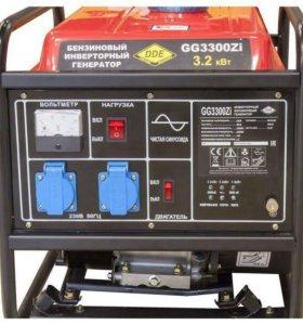 Однофазный бензиновый генератор DDE GG3300ZI