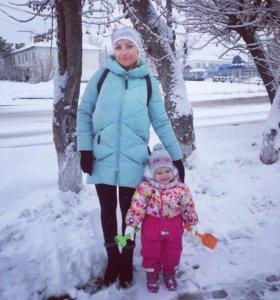 Детский комбез. Зима
