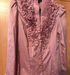 Рубашка с цветочным верезом