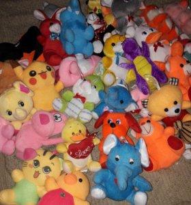Мягкие игрушуи