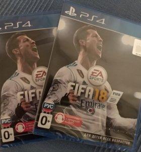 Игра FIFA 18 для PS4 новая