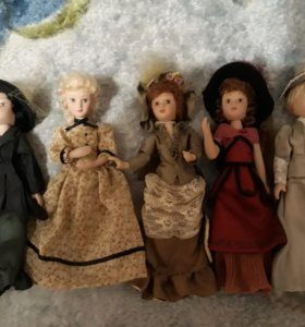 Куклы Deagostini.