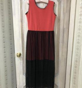 Новое необычное платье