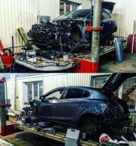 Кузовной ремонт/ Покраска авто. Стапельные работы