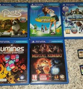 Продам или поменяю игры PS Vita на другие
