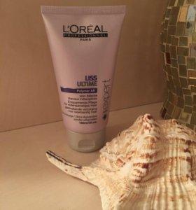 Разглаживающий термо-крем для волос LOREAL