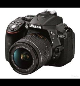 Nikon d5300 kit +nikkor 35mm f1.8G