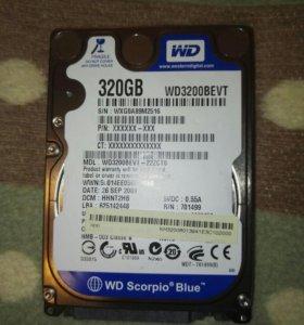 Жесткий диск для ноутбука 320 гб
