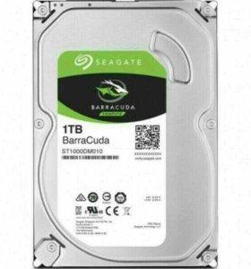 Жесткий диск HDD 1ТБ, новый!