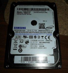 """Sata HDD SAMSUNG 320gb 2.5"""" для ноутбука"""