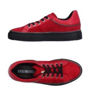 Кроссовки слипоны туфли Bikkembergs