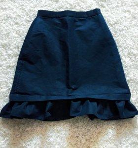 Новая женская юбка с завышенной талией