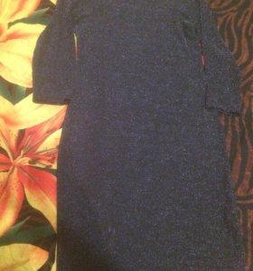 Вечернее платье футляр люрекс