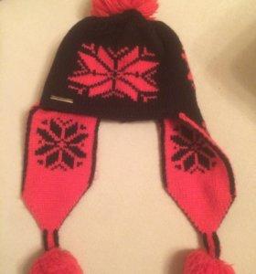 Тёплая новая шапка