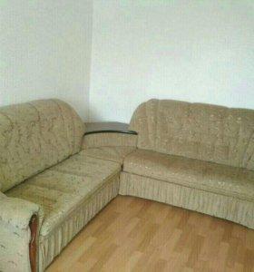 Диван угловой и кресло-кровать