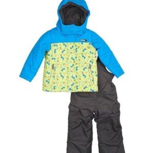 Новый зимний костюм Густи, размер 100
