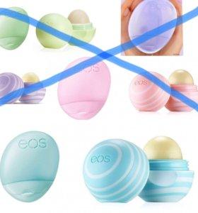Бальзамы для губ и крема для рук EOS