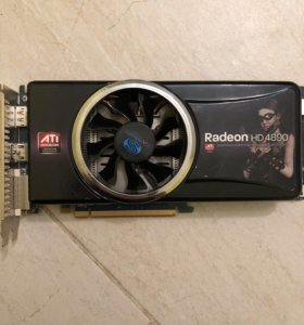 Видео Карта Radeon HD 4890