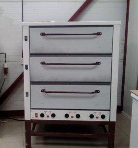 Печь пекарская Восход хпэ-500 нержавейка