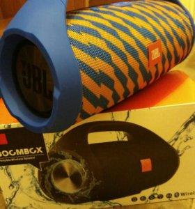 Jbl boombox (новая турбомощьная)