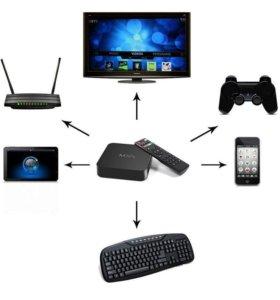 Приставка Смарт ТВ - INVIN KM5 (Android TV Box)