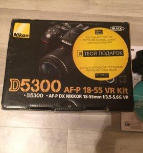 Цифровой фотоаппарат Nikon d5300